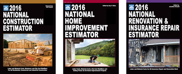 2016 Craftsman Costbooks